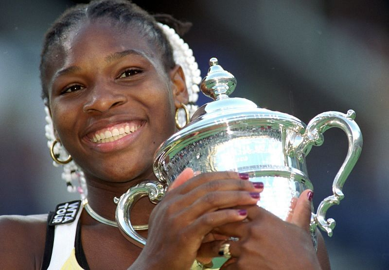 Serena Williams won her first Grand Slam at the 1999 US Open