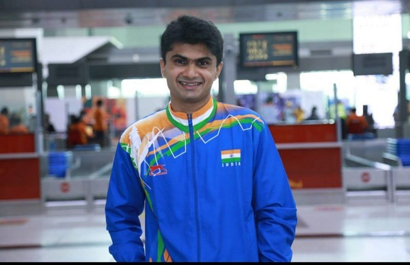 Suhas Yathiraj wins sillver medal at <a href='https://www.sportskeeda.com/go/paralympics' target='_blank' rel='noopener noreferrer'>Paralympics</a>. (©Twitter)