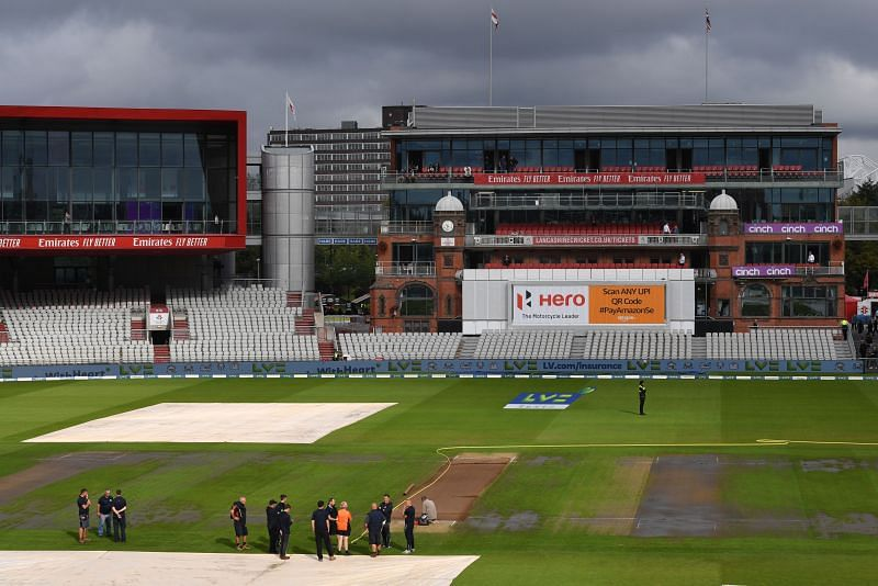 England v India - Fifth LV= Insurance Test Match: Day One