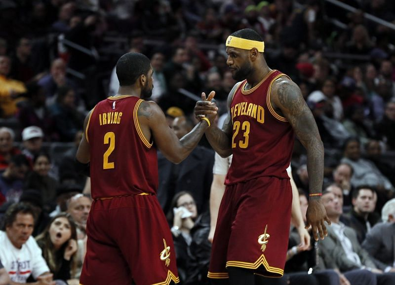 Kyrie Irving and LeBron James defeated a 73-9 Golden State Warriors team to become NBA champions