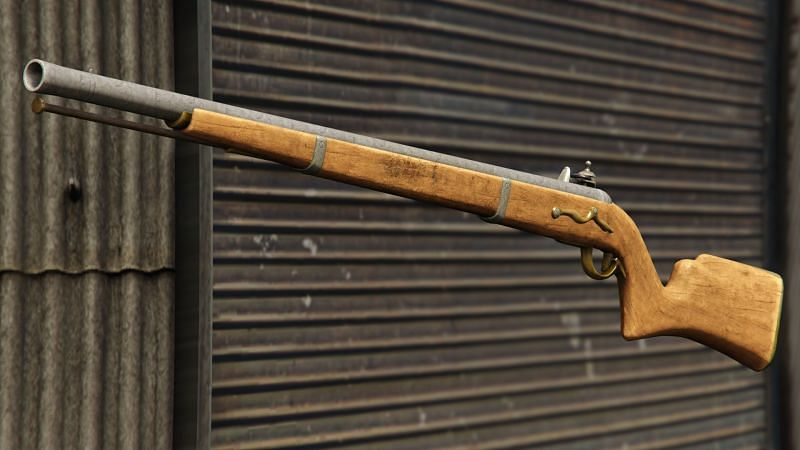 GTA 5 Online 中的火枪步枪(图片来自 gta.fandom.com)