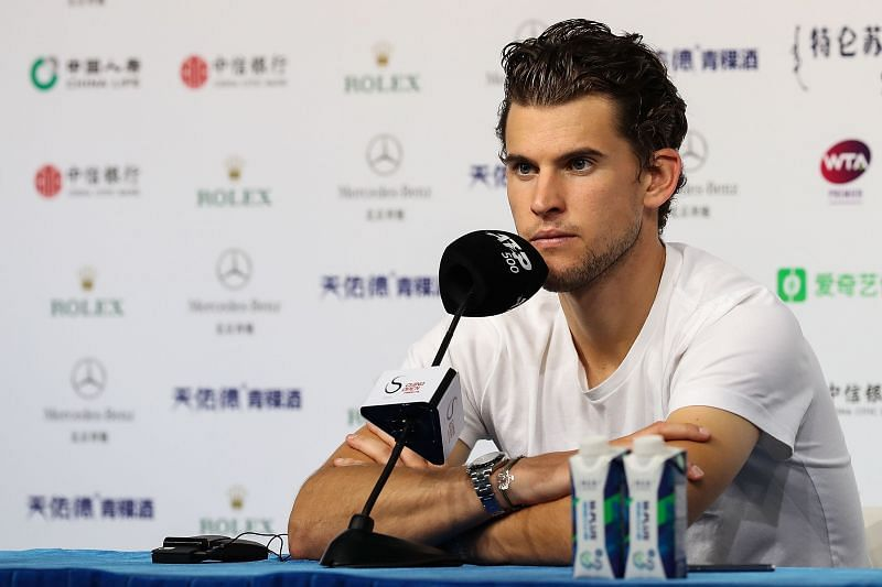 Dominic Thiem is in the process of recovery after having undergone treatment for his wrist injury.