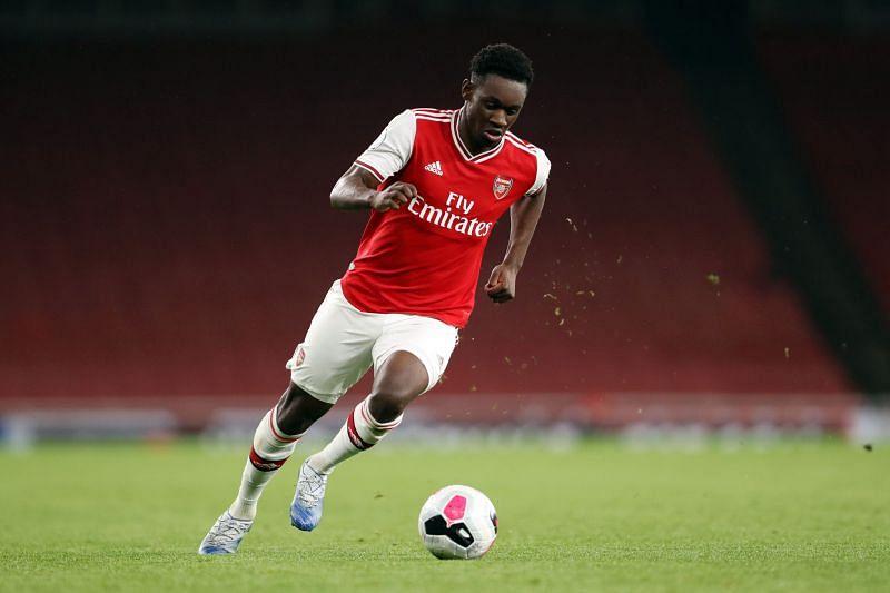 Folarin Balogun made his Premier League debut for Arsenal against Brentford.