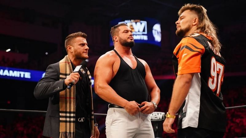 MJF and Brian Pillman Jr. have been going at each other on AEW