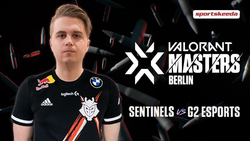 G2 Esports' Nukkye on how the team plans to take revenge on Sentinels, in the upcoming match in Valorant Champions Tour Stage 3 Masters Berlin. (Image via Sportskeeda)