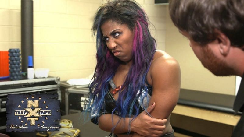 Has Ember Moon reached her breaking point?