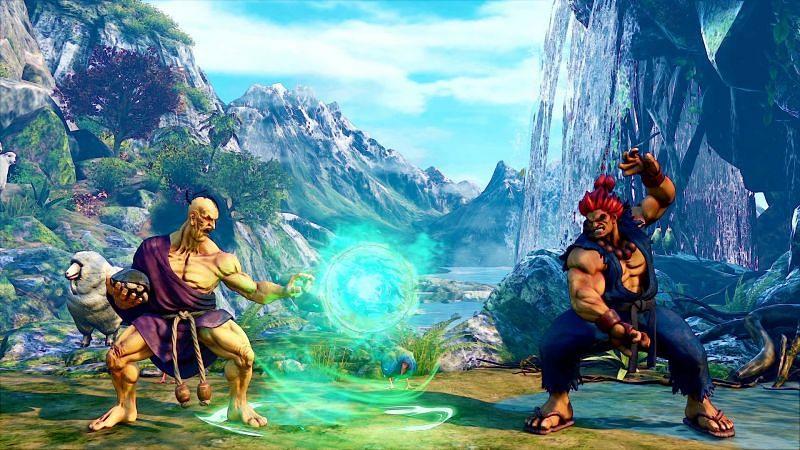 Oro vs Akuma (Image via Capcom)