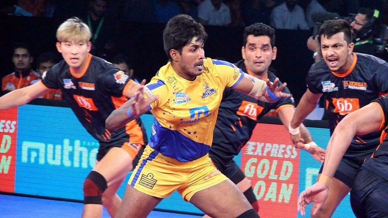 Can the local hero K Prapanjan help Tamil Thalaivas in winning the title this year?
