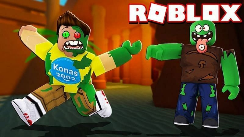A thumbnail for Zombie Tag. (Image via Roblox Corporation)