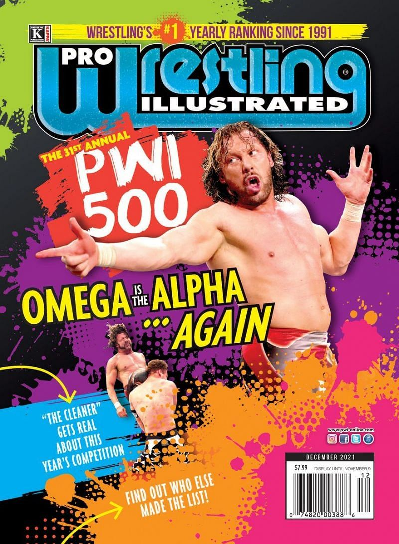 Kenny Omega secured the #1 spot in the PWI500 after a wildly successful year as the belt collector.