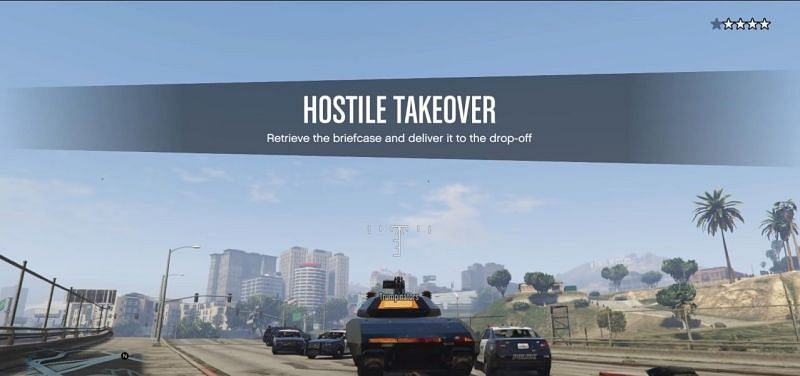 God mode users can abuse Hostile Takeover to stay invincible (Image via Rockstar Games)