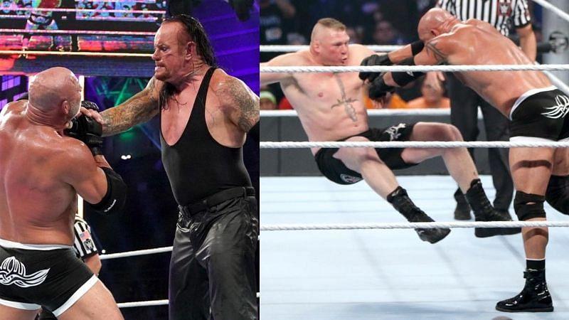 WWE में गोल्डबर्ग के 4 सबसे यादगार मुकाबले
