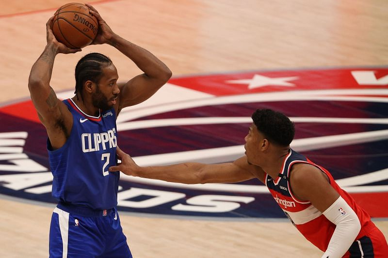 Kawhi Leonard in action for the LA Clippers