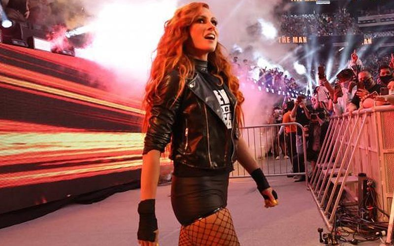 WWE SummerSlam में बैकी लिंच ने वापसी की थी