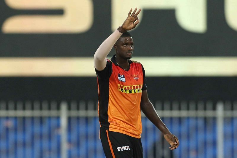 Jason Holder was the star performer for the Sunrisers Hyderabad with the ball as well [P/C: iplt20.com]