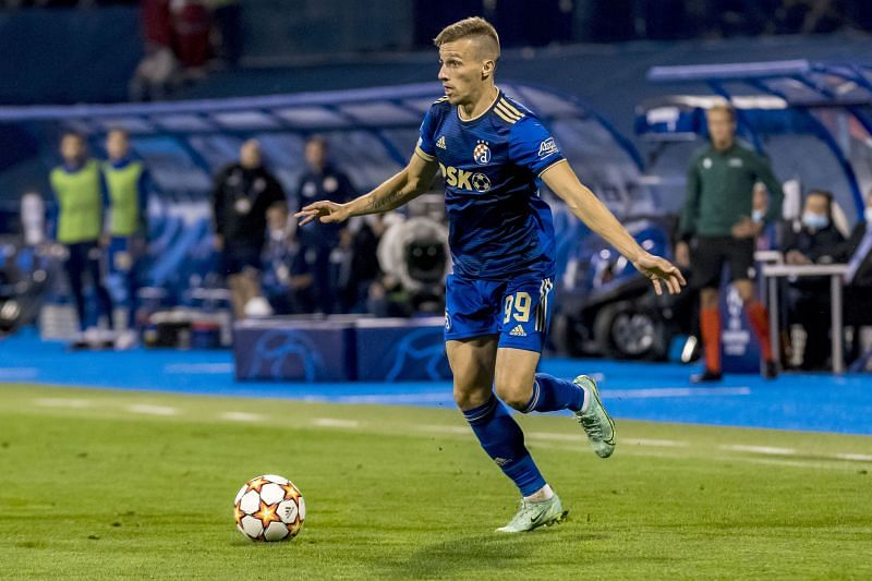 Mislav Orsic scored a hat-trick on his Champions League debut in 2019-20.