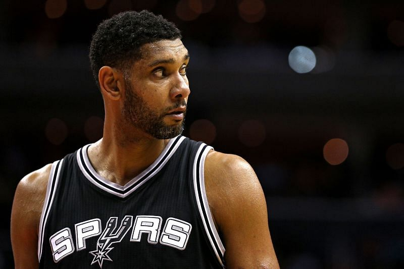 Tim Duncan only played for Spurs during the entirety of his NBA career