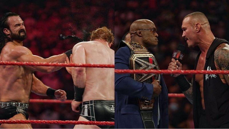 WWE Raw के इस हफ्ते के शो के दौरान कुछ रोचक चीजें देखने को मिलीं