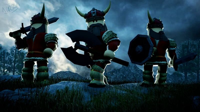 A featured image for Viking Simulator. (Image via Roblox Corporation)