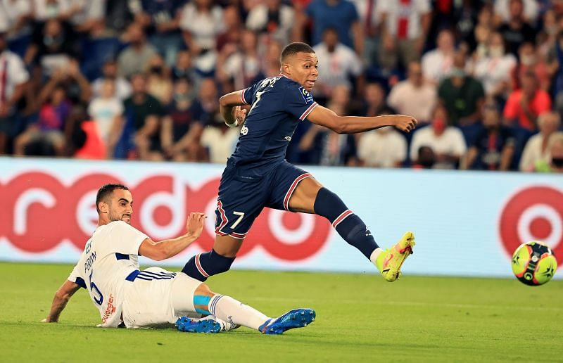 Mbappe is the Ligue 1 top-scorer currently