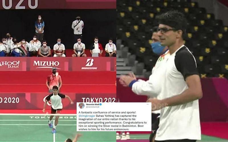 Indian shuttler Suhas Yathiraj wins silver at Paralympics