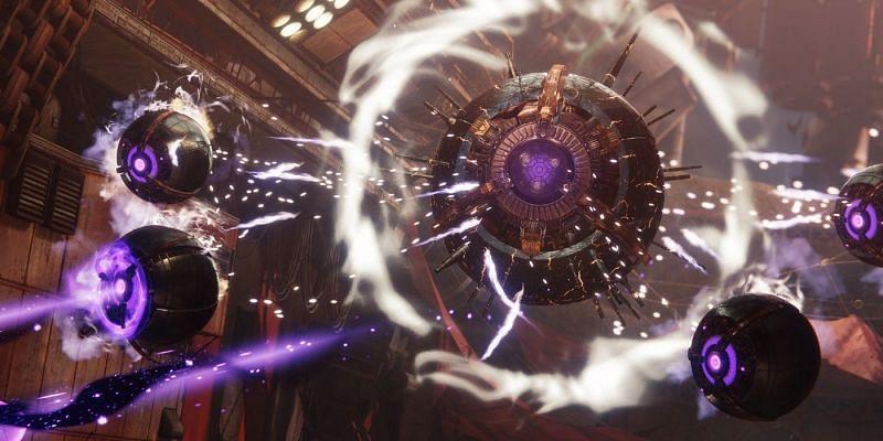 Devil's Lair strike boss Sepiks Prime in Destiny 2 (Image via Bungie)