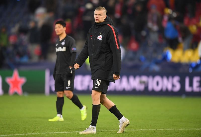 Erling Haaland marked his Champions League debut with a hat-trick in 2019-20.