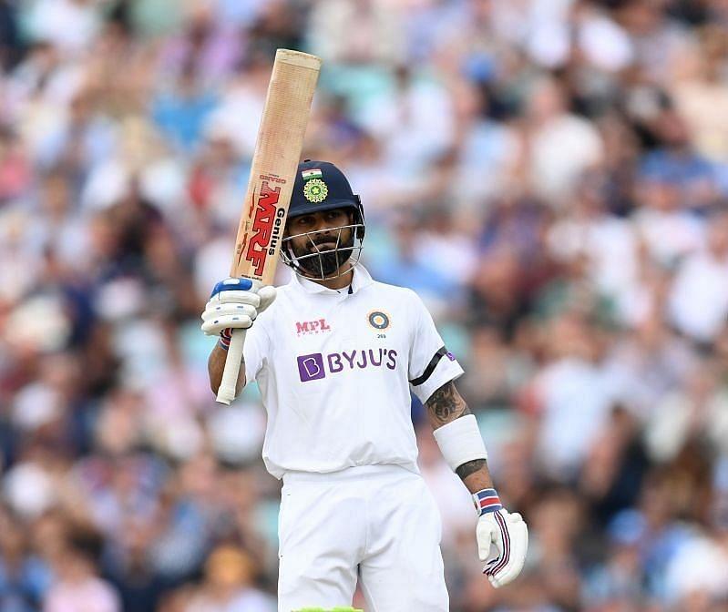 विराट कोहली ने चौथे टेस्ट मैच में अर्धशतक लगाया