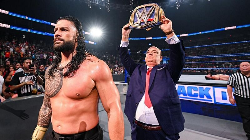 WWE Live Event में रोमन रेंस ने जीता अपना मैच