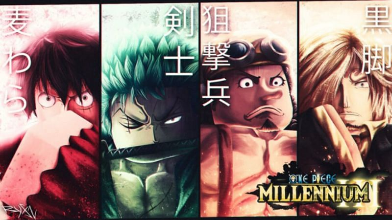 A featured image for One Piece: Millennium 3. (Image via Roblox Corporation)