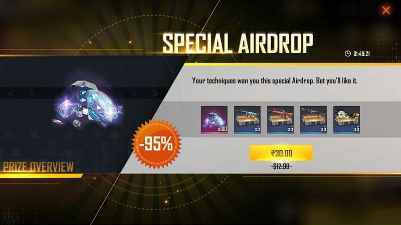 Super Airdrop provides a massive bonus to players (Image via Free Fire MAX)