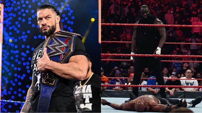 WWE यूनिवर्सल चैंपियन रोमन रेंस और ओमोस
