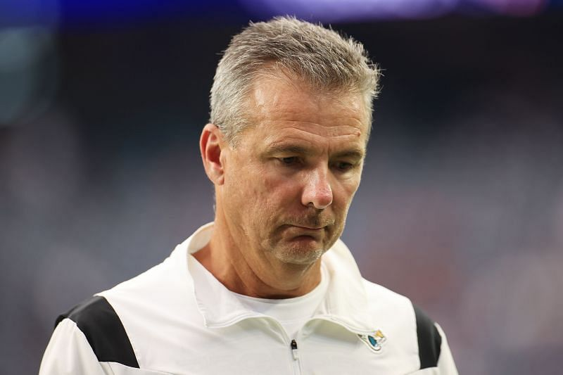 Jacksonville Jaguars head coach Urban Meyer has had a rough start to his NFL career