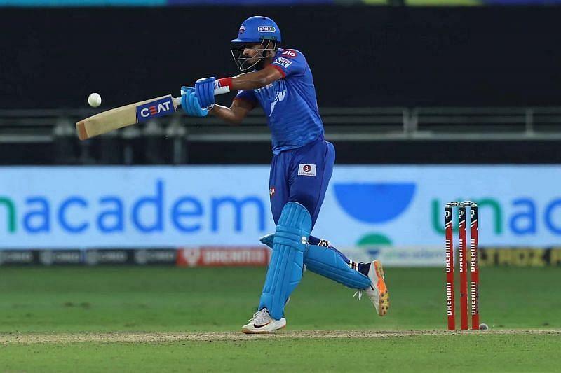 DC batter Shreyas Iyer. Pic: IPLT20.COM
