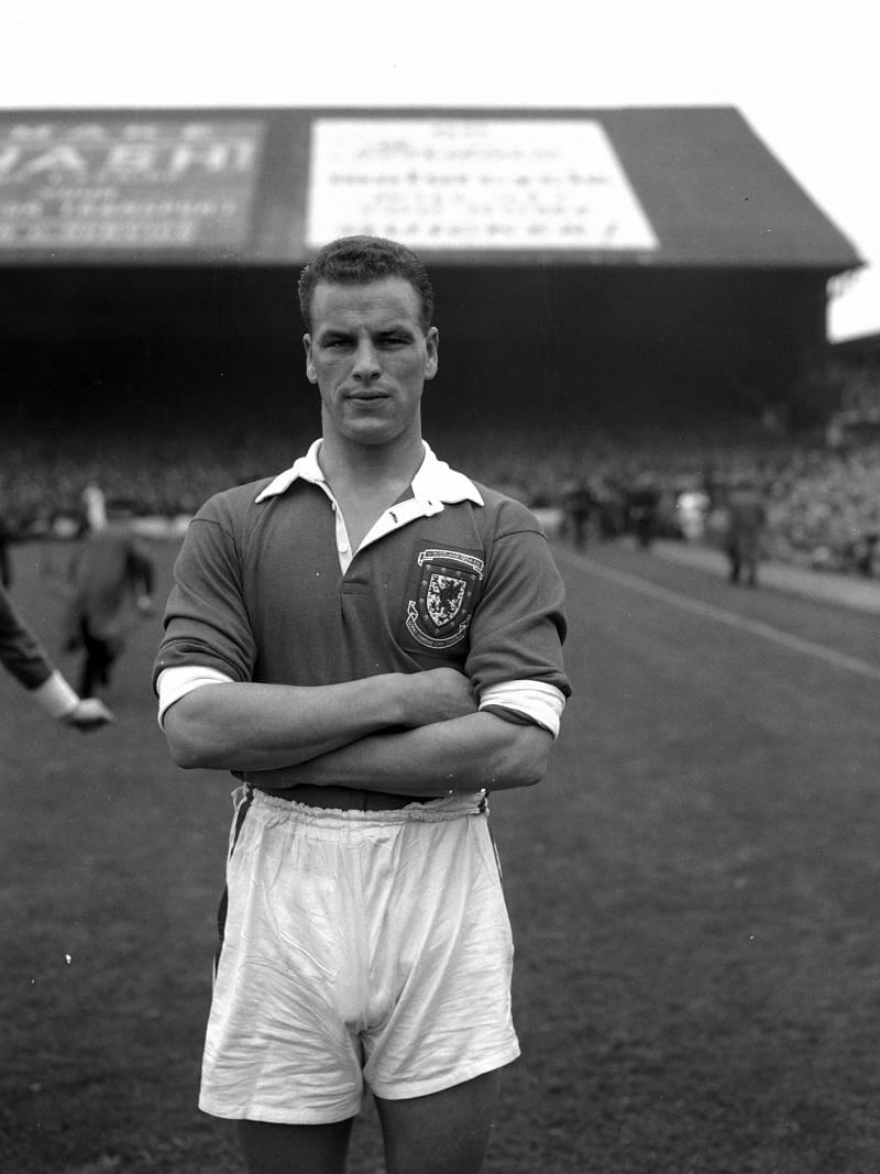 John Charles played a defensive role in the back for Wales