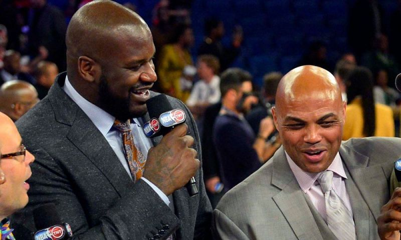 NBA pundits Shaquille O'Neal and Charles Barkley. Photo credits: ftw.usatoday.com