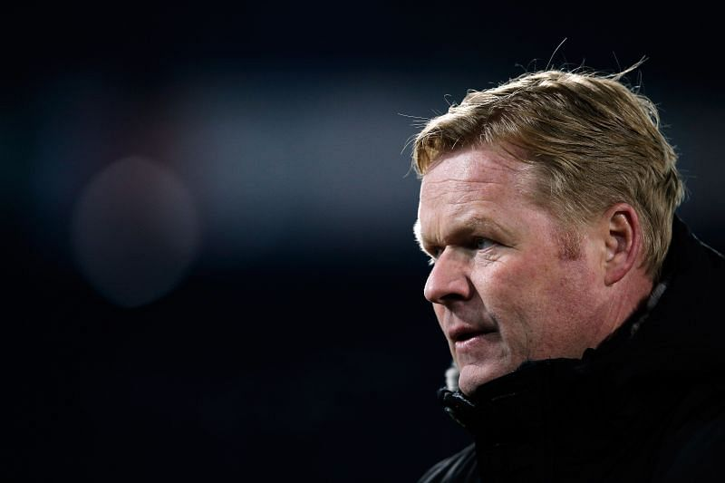 Barcelona manager Ronald Koeman started his UCL campaign with a loss against Bayern.