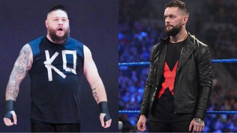 WWE सुपरस्टार्स केविन ओवेंस और फिन बैलर