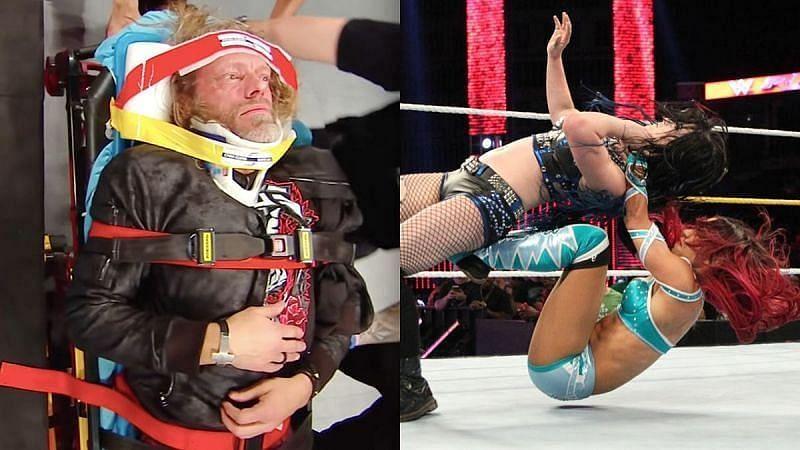 WWE में सुपरस्टार्स को मैच के दौरान गंभीर चोट आती है जिससे उनका करियर खत्म हो जाता है