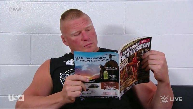 WWE सुपरस्टार ने ब्रॉक लैसनर लेकर को दी प्रतिक्रिया