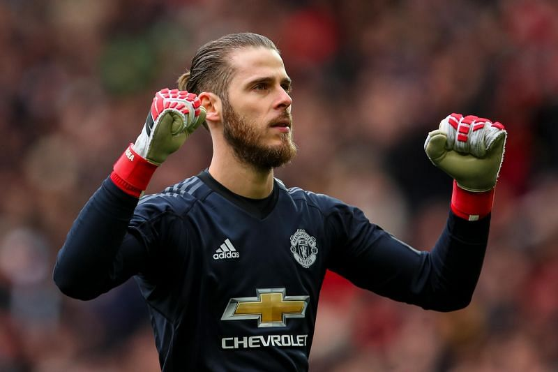 David De Gea had a slump in form, however, he seems to have regained his former level once again (Image via Manchester United)
