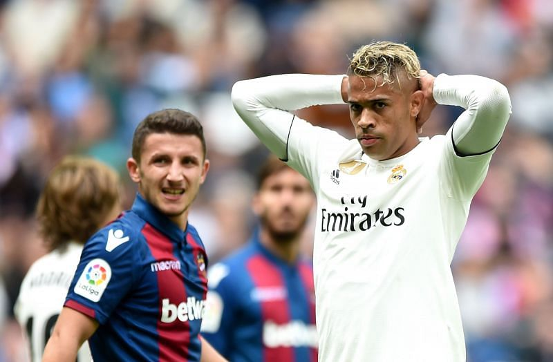 Mariano (R) has mostly disappointed for Real Madrid