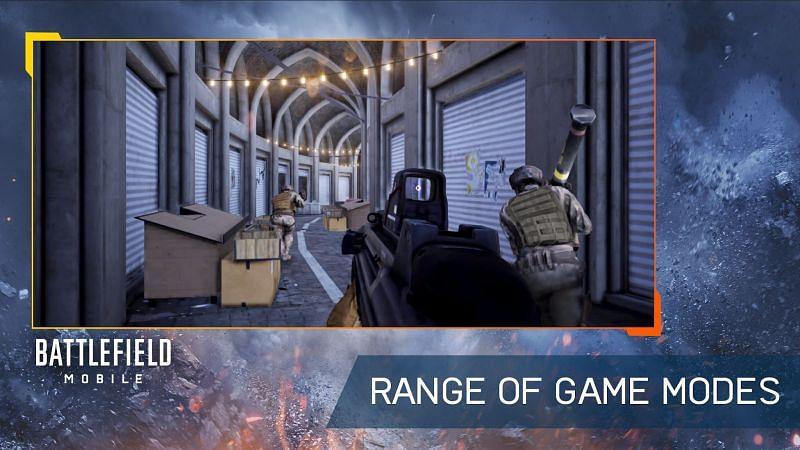 Oyun modları aralığı (Battlefield Mobile Google Play aracılığıyla görüntü)