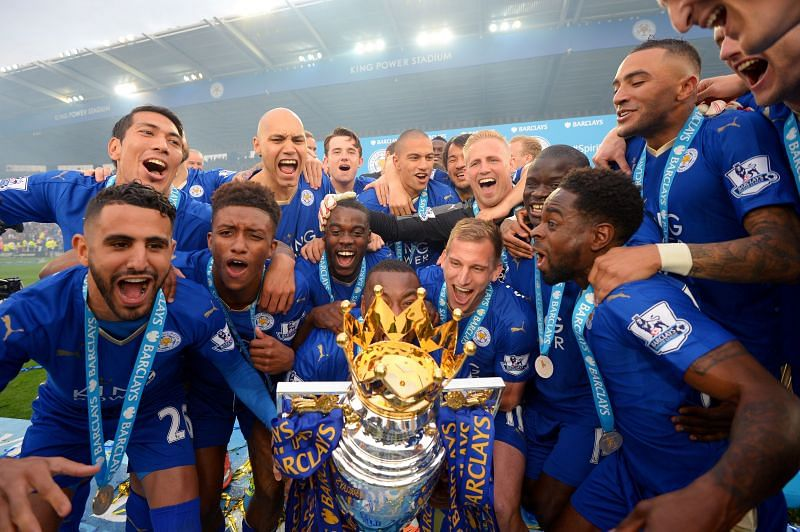 Leicester City win the Premier League.