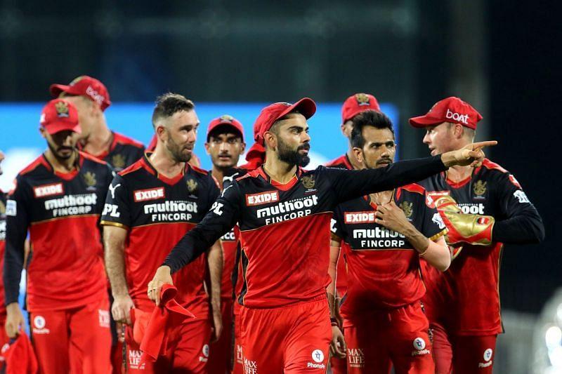 आरसीबी का आईपीएल 2021 के पहले चरण में बेहतरीन प्रदर्शन था