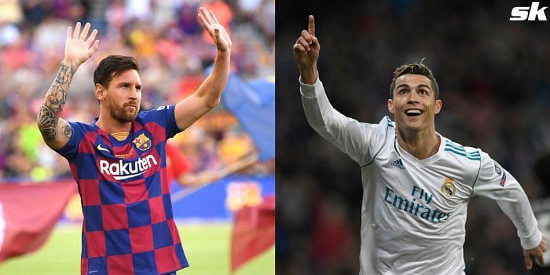 Lionel Messi and Cristiano Ronaldo are the two most prolific scorers in La Liga history