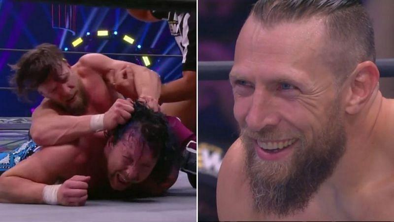 Kenny Omega faced Bryan Danielson at AEW Dynamite: Grand Slam