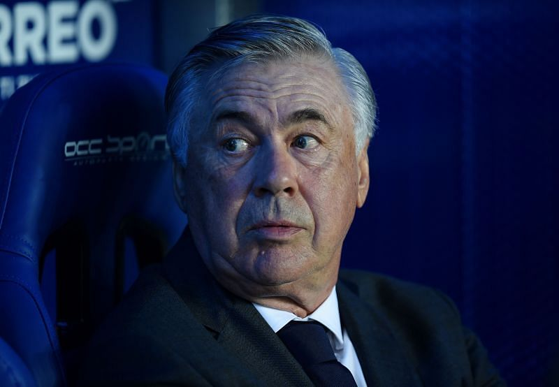 Carlo Ancelotti was impressed with his attackers on Sunday.