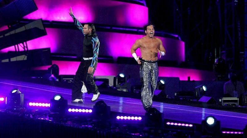 Jeff Hardy and Matt Hardy returned to WWE at Wrestlemania 33