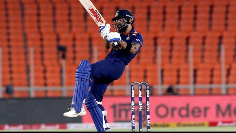 Virat Kohli led India's series triumph against England